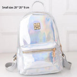 Trendy Holographic Backpack 7 Colors 2 Sizes - Small Bag - Handbag