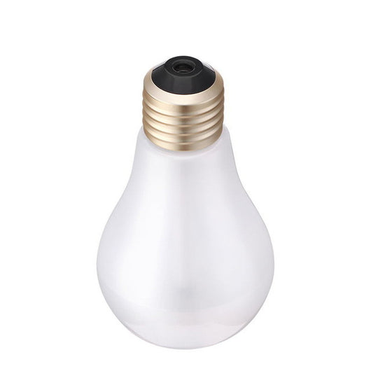 Lightbulb Shaped! Ultrasonic Usb Home Humidifier - No Plant - Oil Diffuser