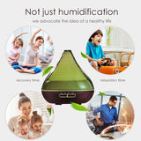Zen Led Color-Changing Essential Oil Diffuser - Oil Diffuser