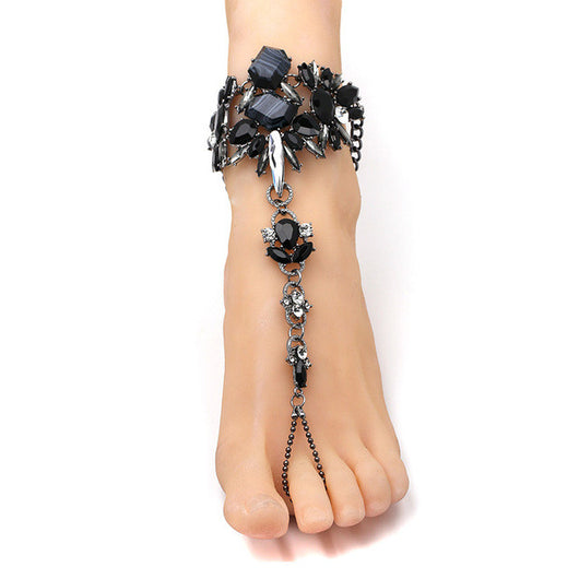 41fb0c571 Sexy Sandals 6 Colors! Australia Beach Vacation - Black Anklet - Anklets