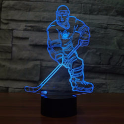 Night Light Led Hockey Player - Night Light