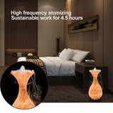 Wood Grain Vase Shaped Essential Oil Diffuser - Essential Oil Diffuser