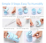 Magic Cup Ultrasonic Humidifier - Essential Oil Diffuser