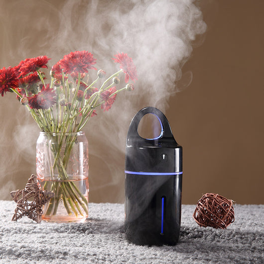 Magic Cup Ultrasonic Humidifier - Black - Essential Oil Diffuser