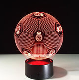 Football Soccer Night Light Holographic 3D Led Lighting - 1 - Night Light