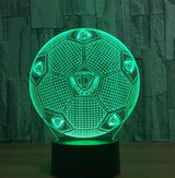 Football Soccer Night Light Holographic 3D Led Lighting - 2 - Night Light
