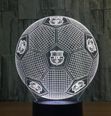 Football Soccer Night Light Holographic 3D Led Lighting - 3 - Night Light