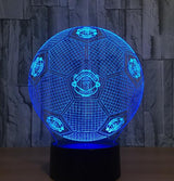 Football Soccer Night Light Holographic 3D Led Lighting - 4 - Night Light