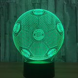 Football Soccer Night Light Holographic 3D Led Lighting - 5 - Night Light