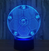 Football Soccer Night Light Holographic 3D Led Lighting - 10 - Night Light