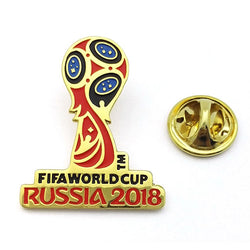Soccer World Cup Commemorative Pin - Brooch