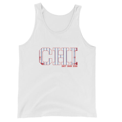 Chicago CHI Baseball Men's Tank Top