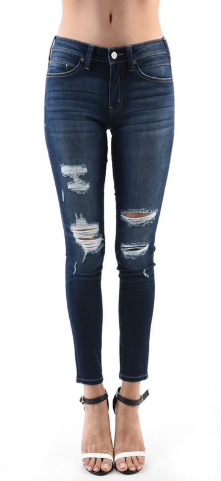 KanCan Denim Distressed Skinny Jean