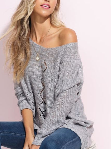 Diamond Detail Sweater