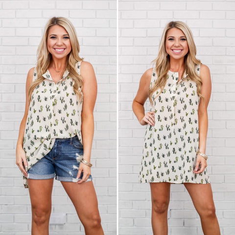 Cacti Tunic Dress