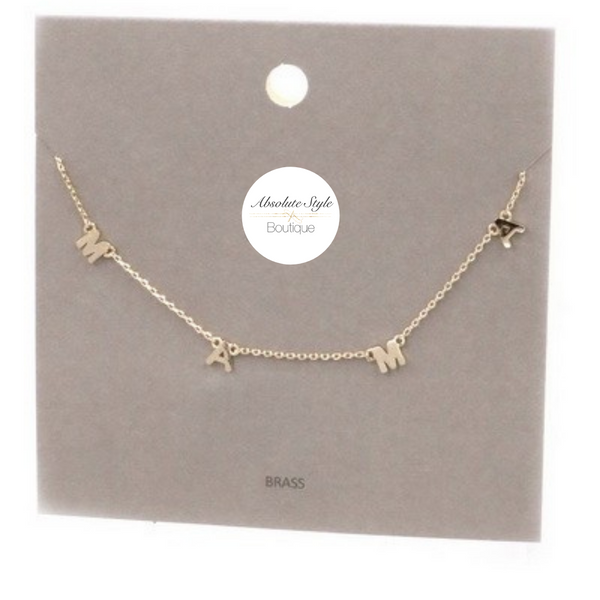 Mama Necklaces