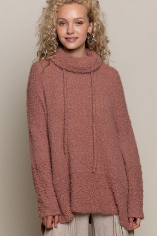 Sweater Cowl Neck Pullover