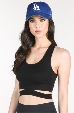 Side Cutout Bralette Top