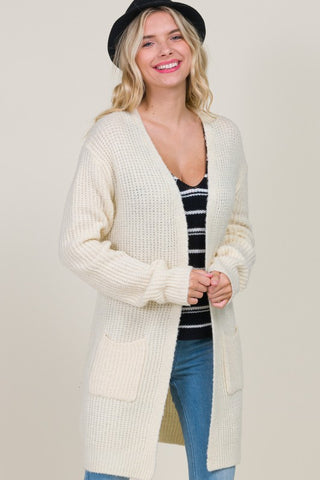 Long Pocket Cardigan