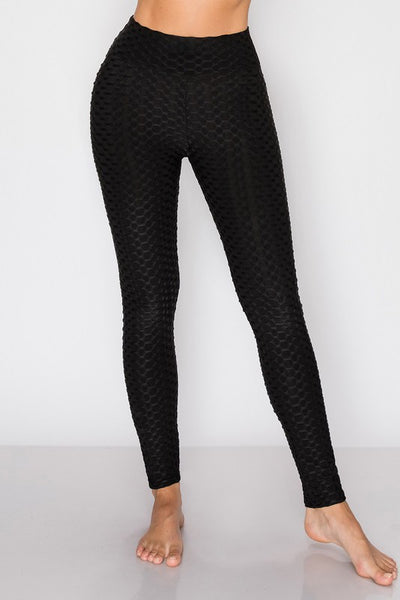 Honeycomb Textured Leggings