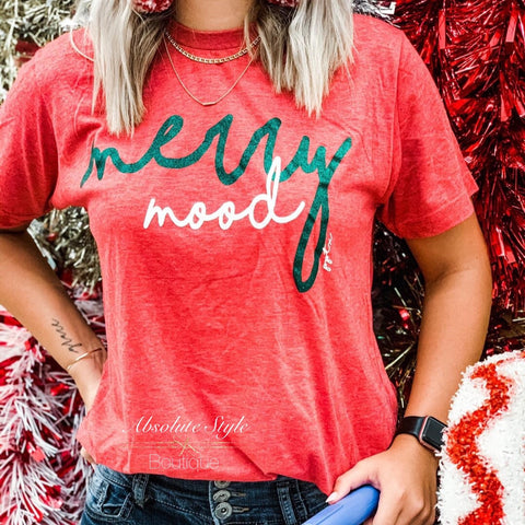 Merry Mood Graphic Tee