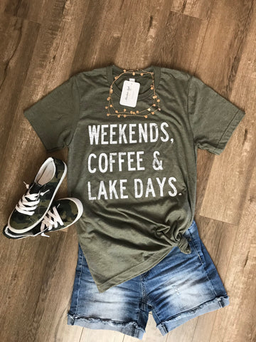 Weekends, Coffee & Lake Days