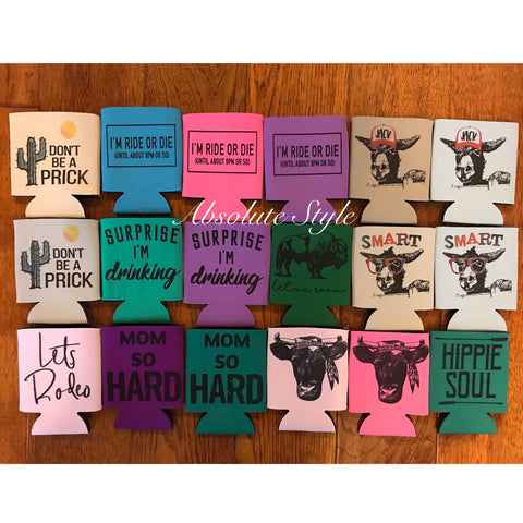 Graphic Koozies