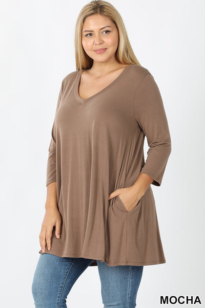 Tunic Top w/Pockets