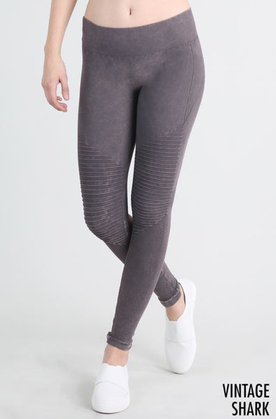 Vintage Moto Long Leggings