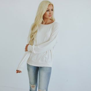 Silky Long Sleeve Pullover