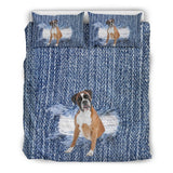 Boxer Break The Wall Bedding Set