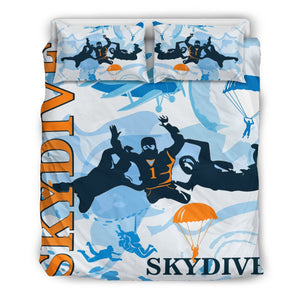 Skydiving Bedding Set