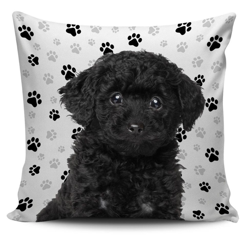 Poodle Pillow Cover