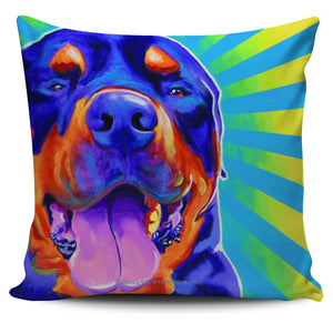 Rottweiler Pillow Cover