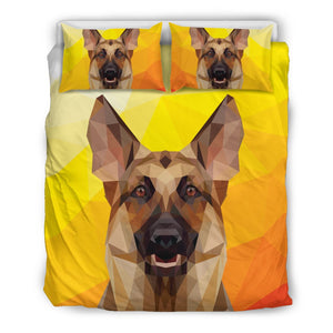 German Shepherd Modern Art Bedding Set