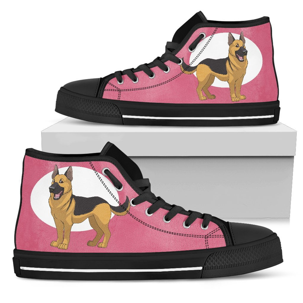 German Shepherd Women's High Top