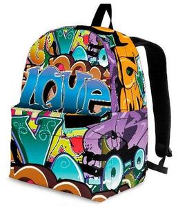 Grafitti Backpack