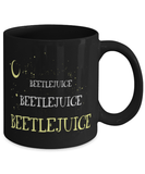 Beetlejuice horror movie mug - 11oz coffee mug - Christmas stocking filler - Black Friday sale