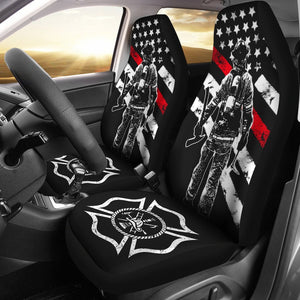 Firefignters Car Seat Covers