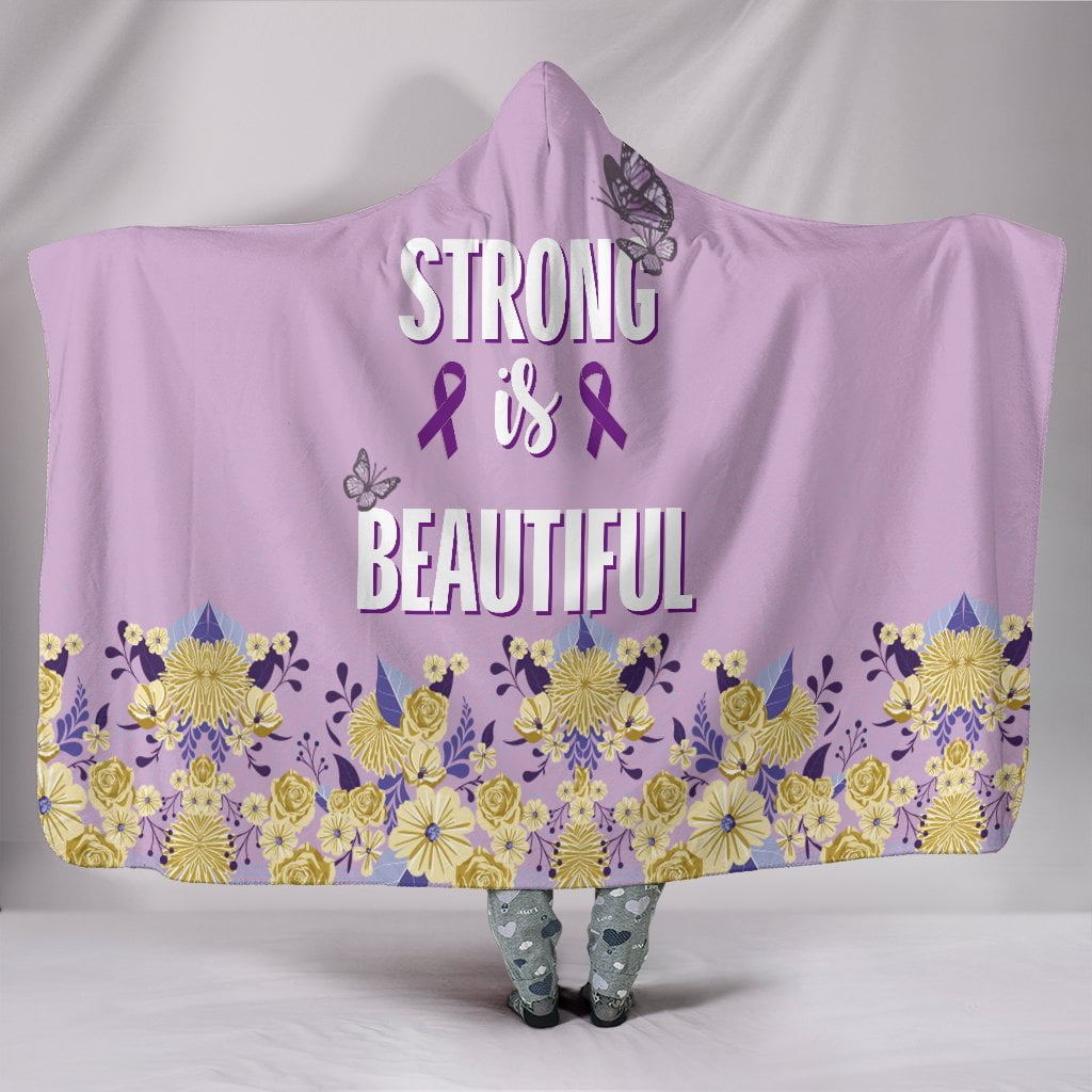Customised Hoodie Blanket Strong & Beautiful
