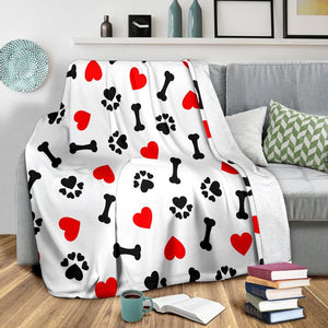 Dog Love Blanket
