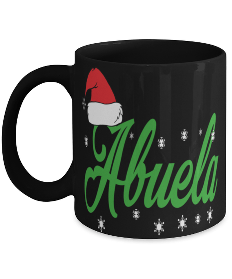 Christmas mug for grandma - Abuela christmas gift