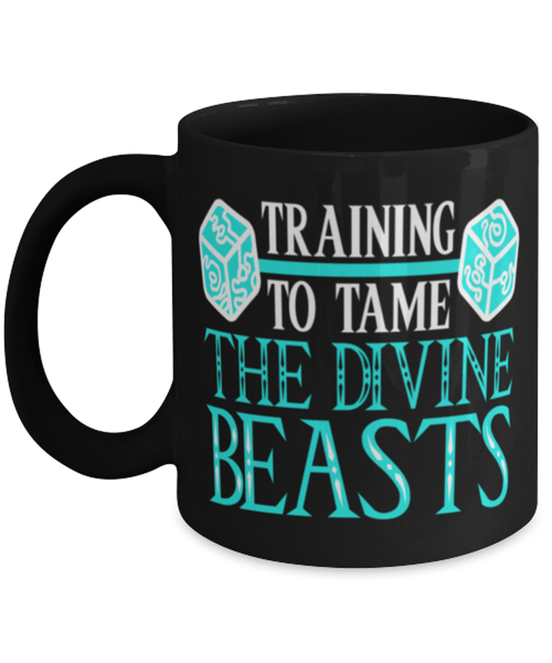 Training to tame the divine beasts mug - Zelda -gamer