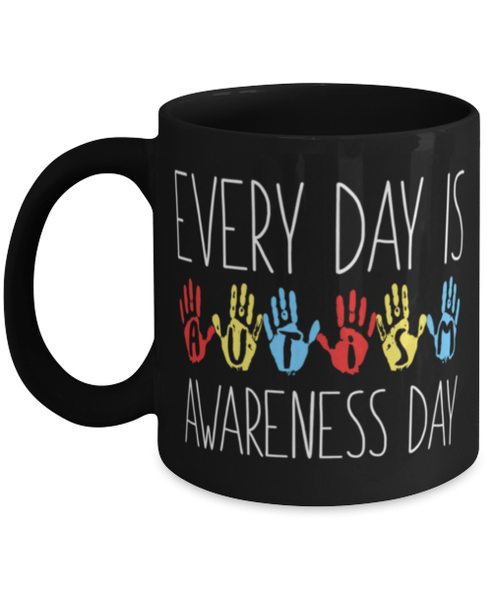 Autism awareness mug -