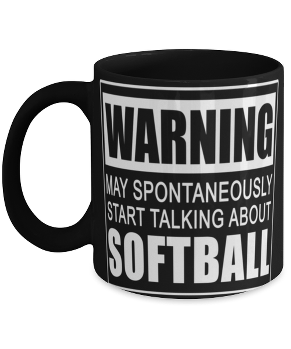Funny Softball fan mug - Softball mom dad cup - Softball coach mug - Softball lover - 11oz coffee mug - Christmas stocking filler