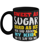"Funny Mom mug ""Hard as Ice"" - Mother day mug - Wife mom boss - Mom cup - Funny mom - 11oz 15oz coffee mug"