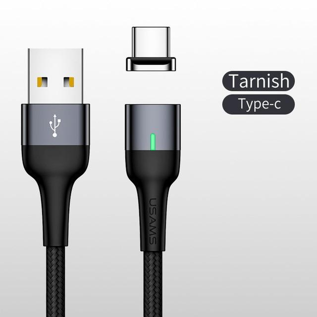 Magnetic Charging and Data transfer Cable for All brands - Type C / Micro USB / Lightning