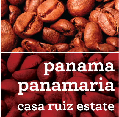 PANAMA PANAMARIA CASA RUIZ ESTATE COFFEE
