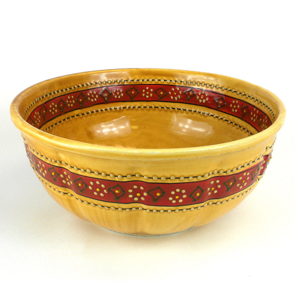 Large Bowl - Honey