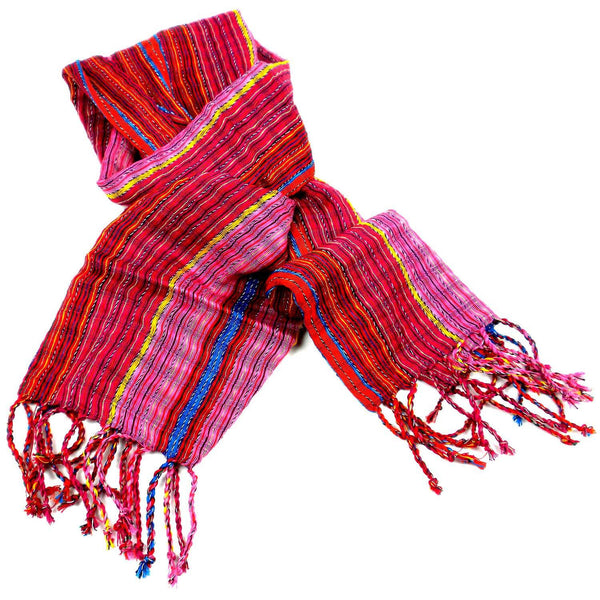 San Antonio Scarf - Passion Red